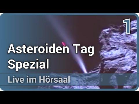 Erforschung der erdnahen Asteroiden (1/2) • Live im Hörsaal | Alan Harris