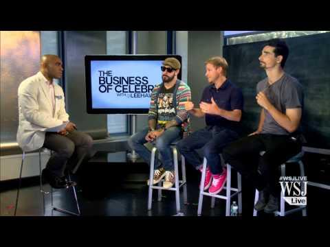 Backstreet Boys Interview | Backstreet Boys Talk To WSJ's Lee Hawkins