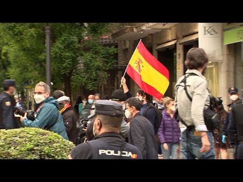 Nuevas protestas contra Sánchez en Madrid
