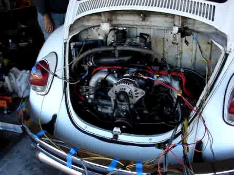 hqdefault vw beetle subaru conversion ej22 youtube subaru engine wiring harness swap at cos-gaming.co
