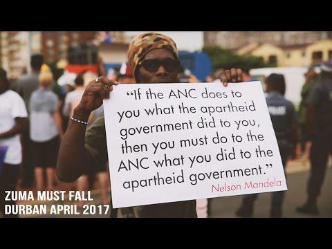 Zuma Must Fall March, Durban, South Africa, April 2017