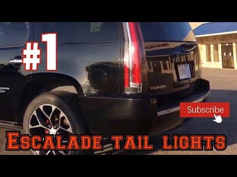 2007 Yukon Denali escalade taillights awesome custom rides