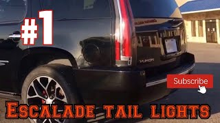 2007 Yukon Denali escalade taillights awesome custom rides