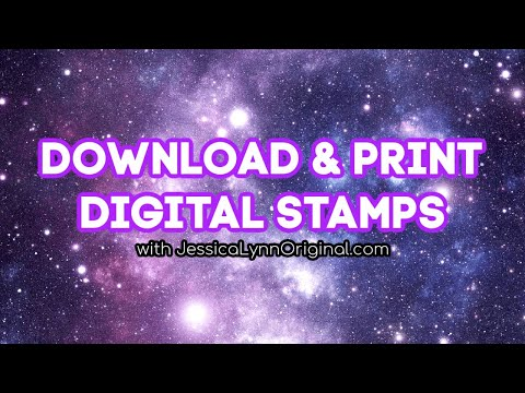 How to Download and Use a JessicaLynnOriginal Digital Stamps