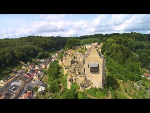 Luxemburg-Mullerthal by drone,Yuneec Q500+