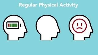 Did you know that physical activity is one of the most effective ways to improve mental health? check out this strive for wellness® video learn more.