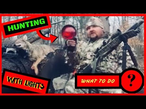 """Coyote Hunting At Night With A Light """"tips And Tactics """" Team Zombie"""