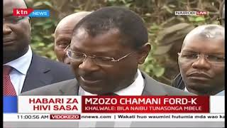 Wetangula refuses to respond on fake gold scam, says he doesn\'t want to discuss a non-issue