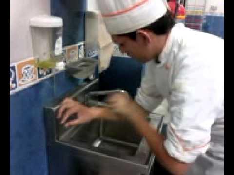 lavado de manos quirurgico cocina youtube