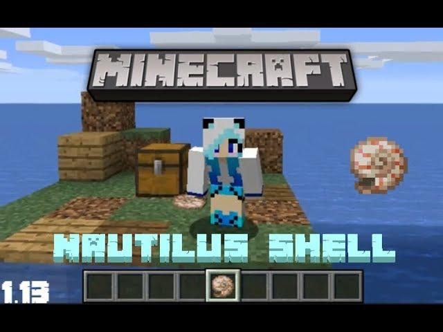 Minecraft Cómo Obtener Conchas De Nautilus