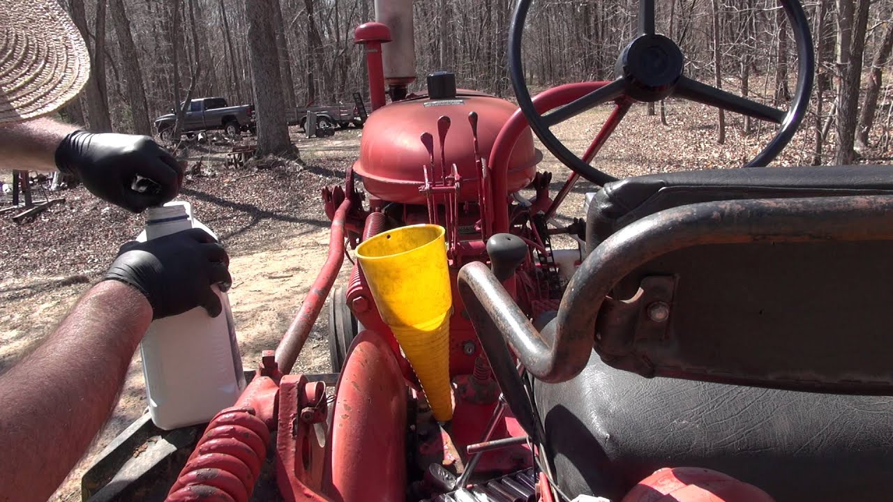 Farmall 140 - Gear Oil Change