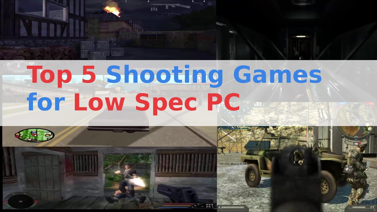 Top 5 Shooting Games For Low Spec Pc Youtube