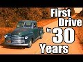 1949 Chevy 3100 First Drive in 30 years