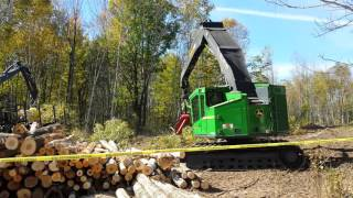 Video still for Nortrax Live Cut Demo in Crandon Wisconsin