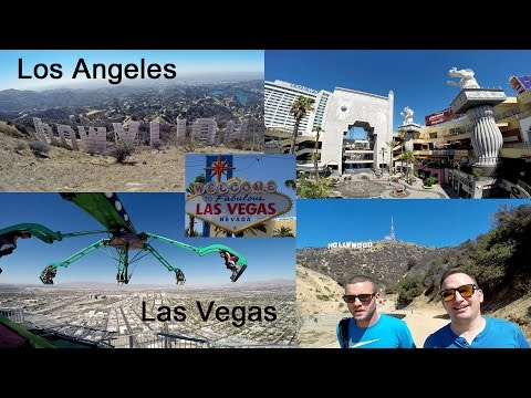 Great US Trip to the West Coast: Part 1 L.A.-Vegas GoPro