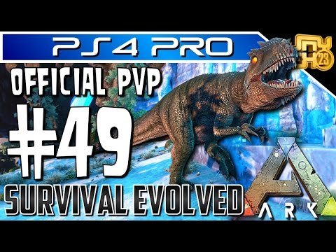 ARK OFFICIAL PVP on PS4 PRO - EP 49 - THE ALPHA ALLIANCE RAID US - HUGE BASE DEFENCE!!