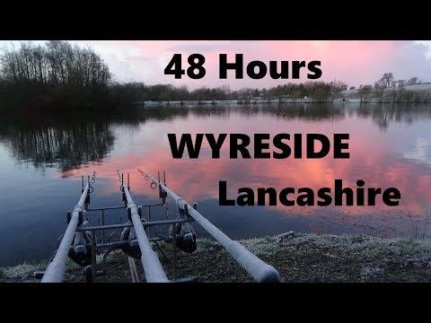 Fishing at Wyreside Fishery Lancashire