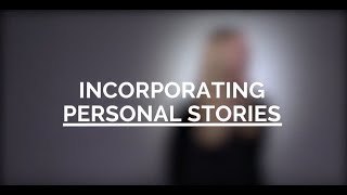 Incorporating Personal Stories | Values Based Organizing