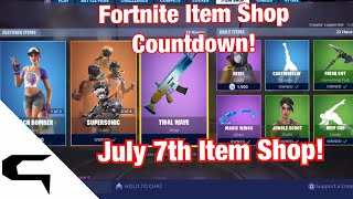Gifting Skins!! FORTNITE ITEM SHOP COUNTDOWN July 7th item shop Fortnite battle royale