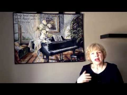 "Devotion Video #74 ""Sing And Make Melody"" by Susan Waters from ExceedingJoy.com"