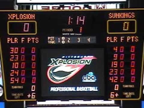 CBA Yakama Sun Kings vs Pittsburgh Xplosion 01-24-2007
