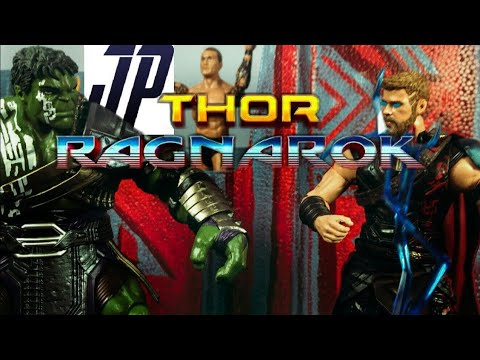 THOR VS HULK STOP MOTION FILM