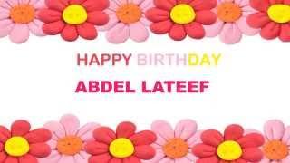 AbdelLateef   Birthday Postcards & Postales - Happy Birthday