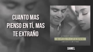 andrea bocelli ft ariana grande e piú ti penso traducida a español
