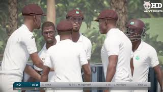 1st Test - India V West Indies Day 4 highlights | West Indies Tour Of India | DBC 17 Gameplay