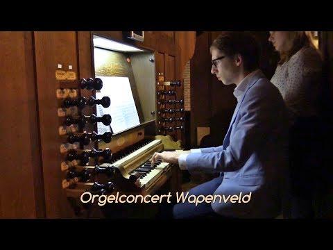 Théodore Dubois - Fiat Lux - Gert van Hoef - Orgelconcert Wapenveld