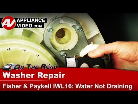 Fisher Paykel  Washer - Diagnostic & Repair - Drain Pump