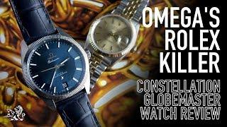 The Rolex Killer & Omega's Best Kept Secret - Constellation Globemaster Watch Review