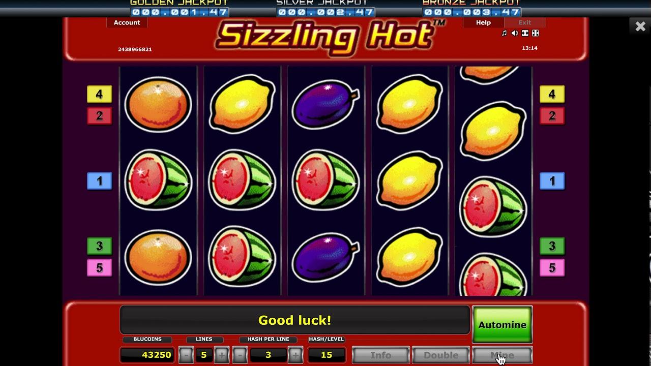 Sizzling Hot Jackpot