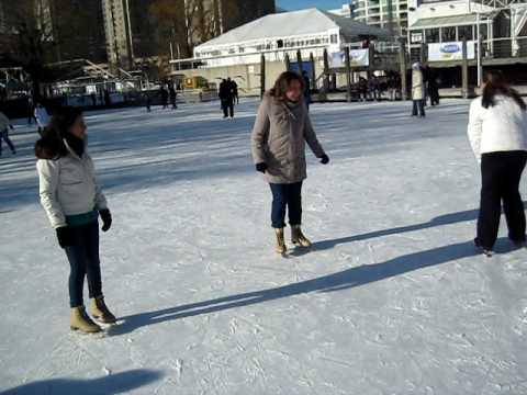 skating at harbor front