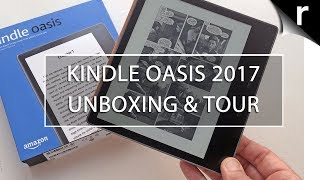 Kindle Oasis 2017 Unboxing, Hands-on Review & Comparison