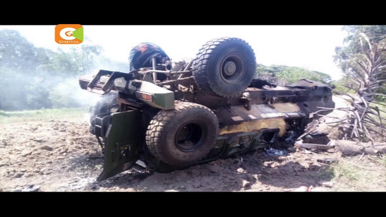 4 people killed in a landmine attack in Kulan, Garissa County