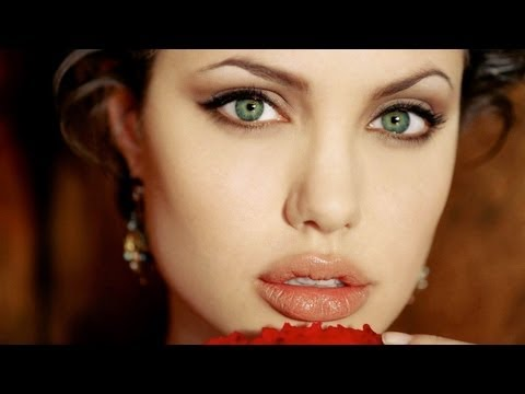 angelina jolie megan fox hybrid transformation makeup