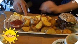 Profikoch testet vegetarisches Restaurant in Lübeck | Sat.1 Frühstücksfernsehen