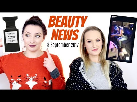 BEAUTY NEWS - 8 September 2017