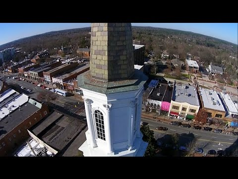 University United Methodist Church, from the Air