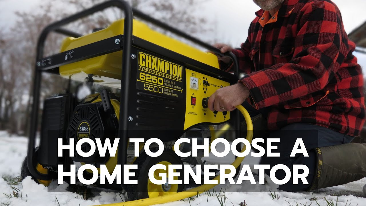 Download HOME GENERATOR: How to Choose Wisely