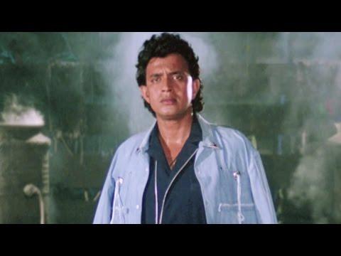 Mithun Chakraborty, Dalip Tahil,Ilaaka  - Action Scene 2/20