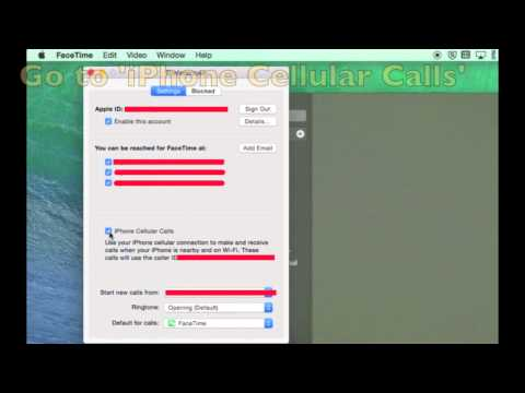 how to upload photos from iphone how to stop iphone calls ringing a mac in os x yosemite 4349