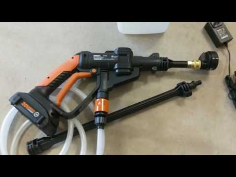 Worx Hydroshot Out Of The Box Into The Yard Doovi