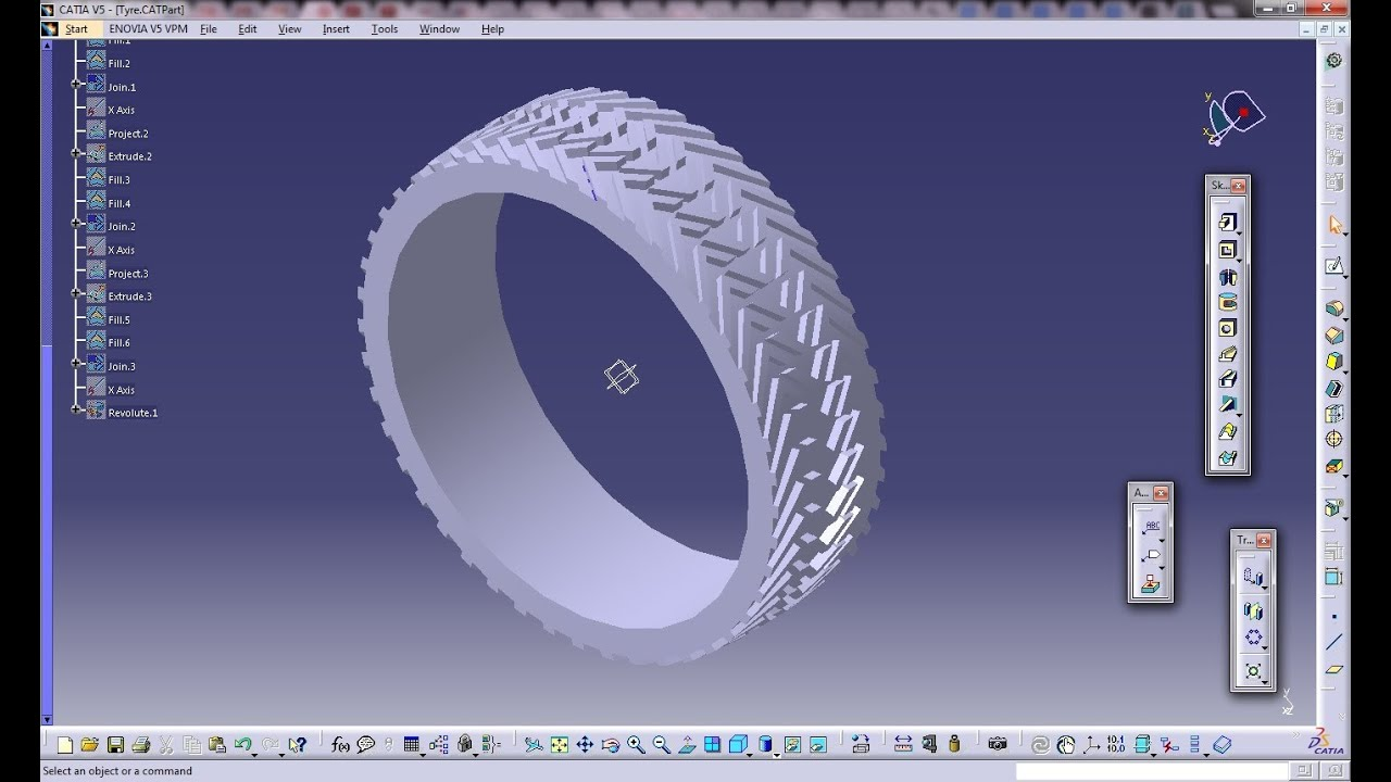 Catia V5 Tutorial|Automotive Engineering Design|How Create ...