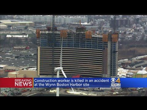 Worker Dies At Wynn Boston Harbor Construction Site