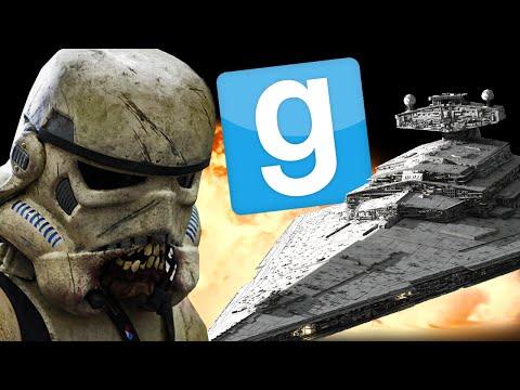 ZOMBIE STORMTROOPERS! - Garry's Mod - Star Wars Zombies Mod