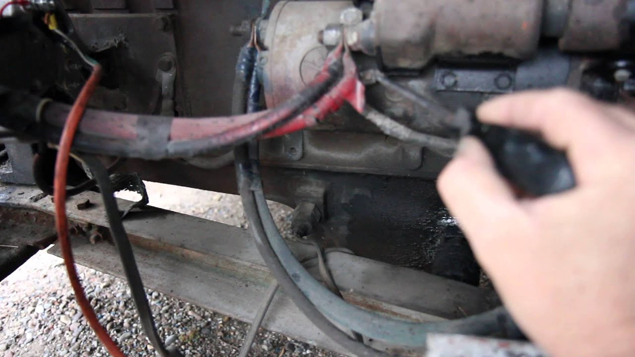 94 Chevy 1500 Wiring Diagram Australian Trailer Plug How To Jump A Gm Starter - Youtube