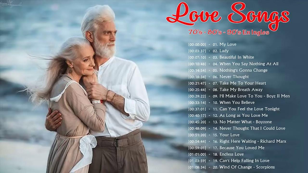 Musica Romantica En Ingles 70 80 90 Para Trabajar Y Concentrarse Balada Romantica En Ingles Youtube