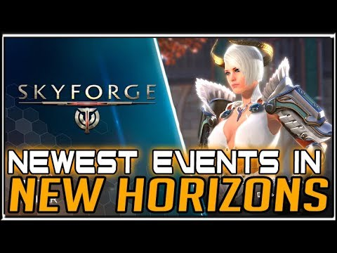 New Content and Events in Skyforge - New Horizons Update + Nemesis Pack  Giveaway